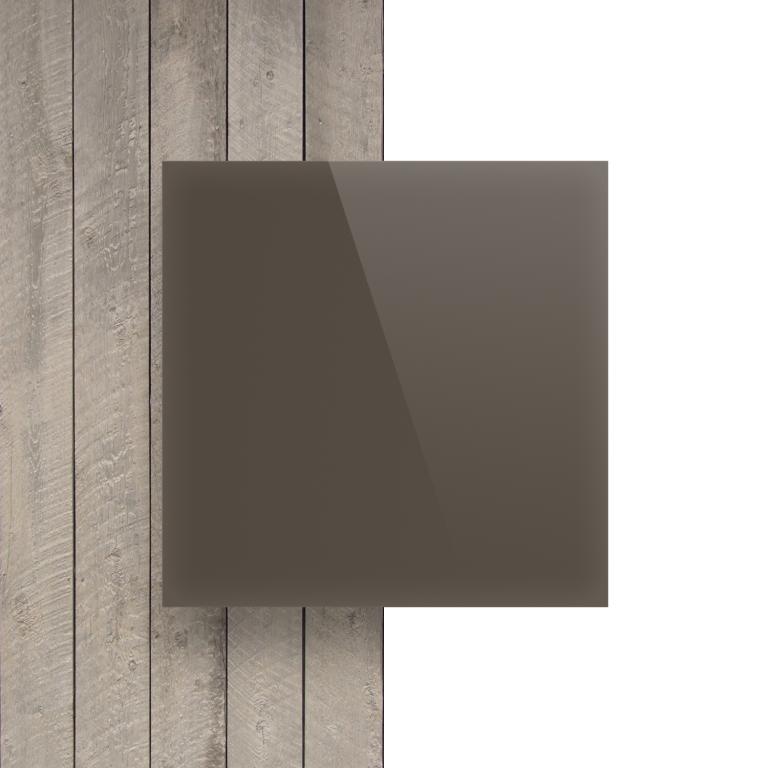 Vorseite Acrylglas Platte glanzend beigegrau