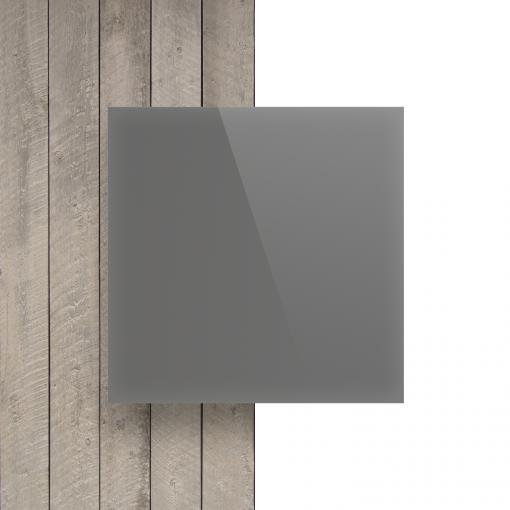 Vorseite Acrylglas Platte glanzend platingrau