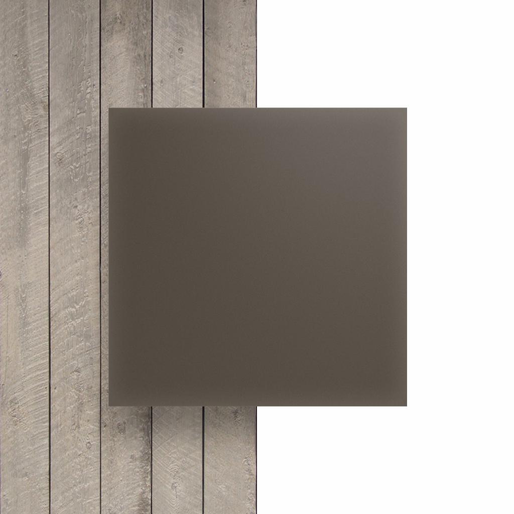 Vorseite Acrylglas Platte matt beigegrau