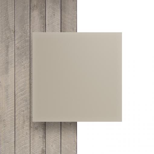 Vorseite Acrylglas Platte matt perlweiss