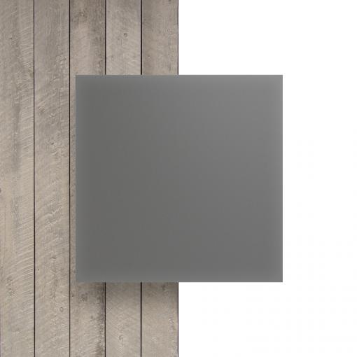 Vorseite Acrylglas Platte matt platingrau