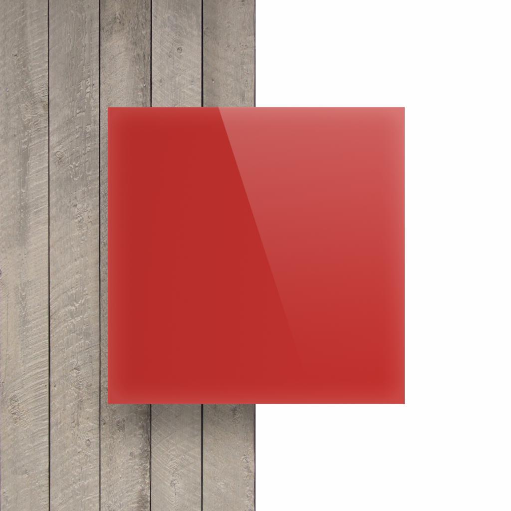 Vorseite Acrylglas Platte opal rot