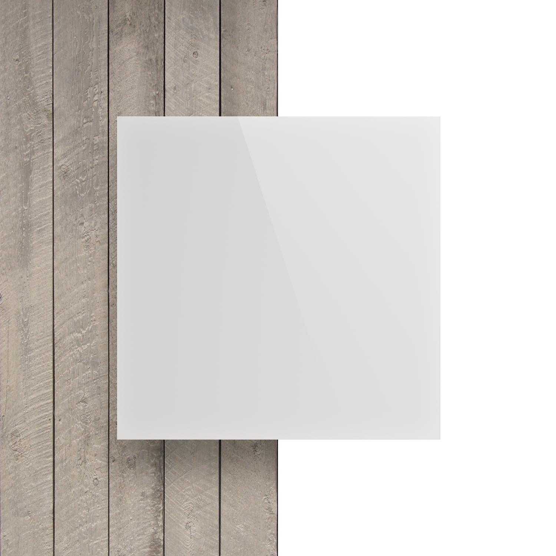 Acryl-Zuschnitt//Plexiglas-Platte schwarz 3mm XT 45 x 40 cm
