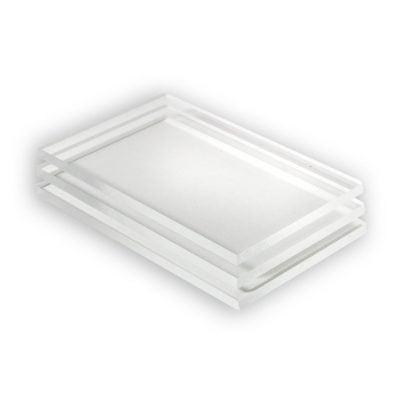 Acrylglas Platte transparent