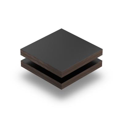 HPL Trespa Meteon Platte schwarz