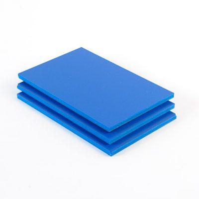 PVC platten blau Zuschnitt nach Maß kaufen