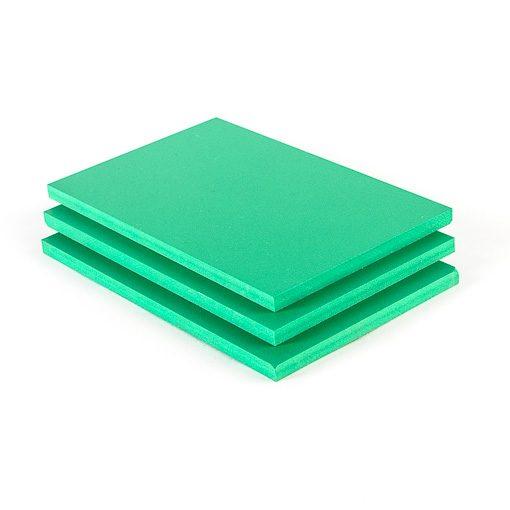 pvc hartschaumplatten gr n 3 mm zuschnitt nach ma. Black Bedroom Furniture Sets. Home Design Ideas