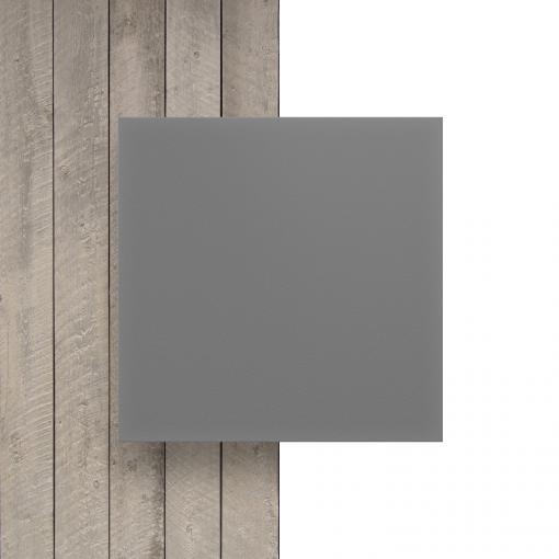 Vorseite PVC Hartschaumplatte grau