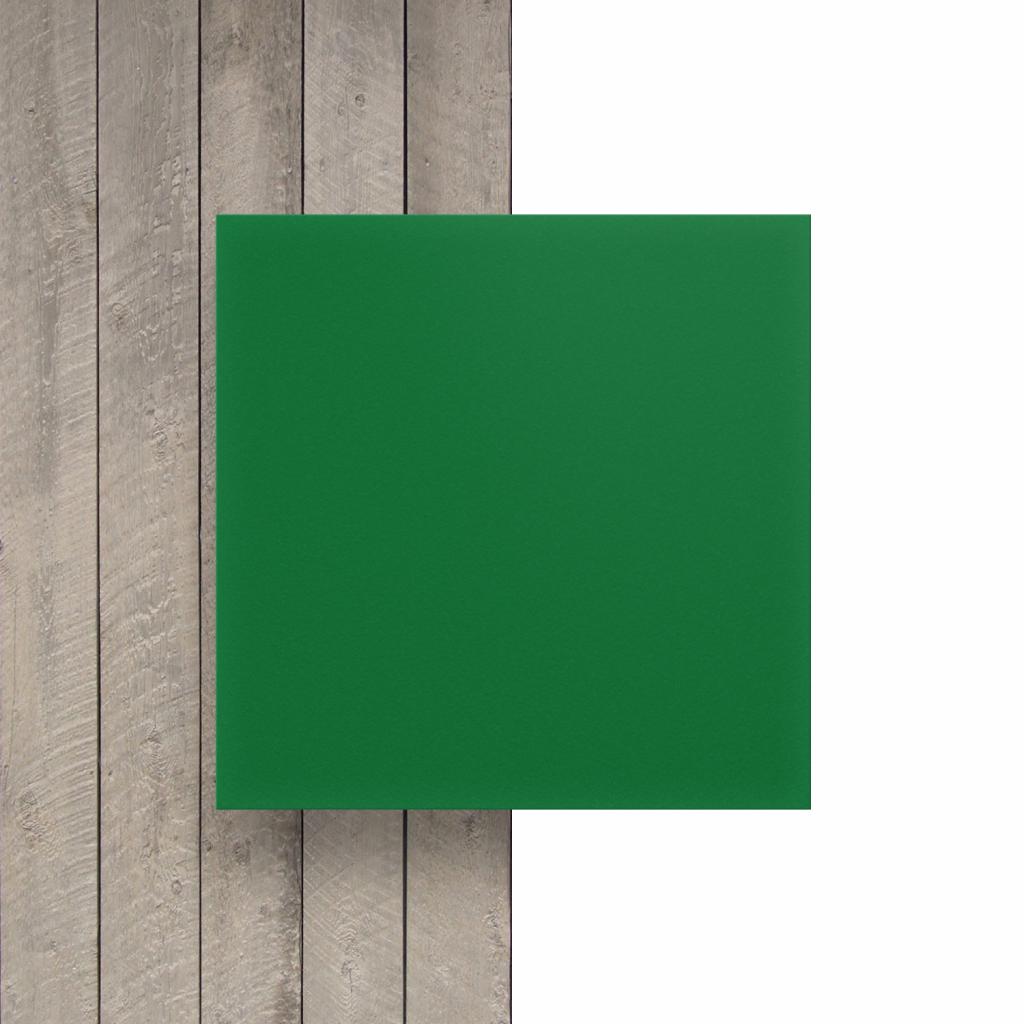 Vorseite PVC Hartschaumplatte gruen