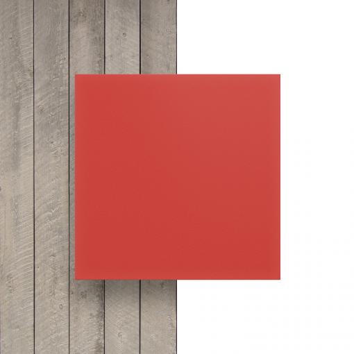 Vorseite PVC Hartschaumplatte rot
