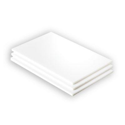 Hart PVC ganze Platte weiß