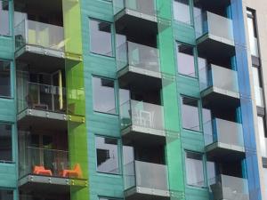 Balkonverkleidung plexiglas