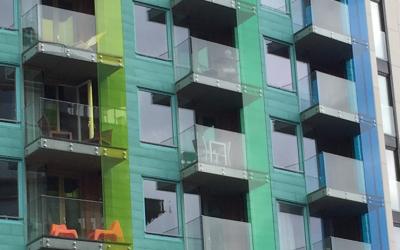 Balkonverkleidung Plexiglas®