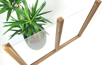 Windschutz selber bauen mit Plexiglas