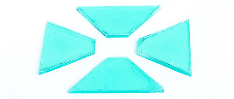 Hologramm selber machen Acrylglasplatten