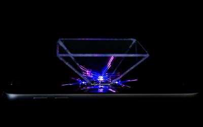 Hologramm selber machen