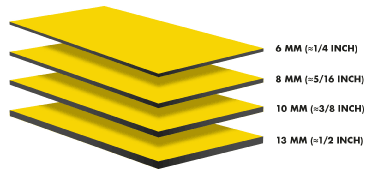 Trespa Platten Formate / Maße