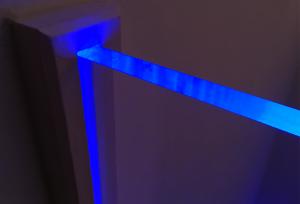 Plexiglas beleuchten LED