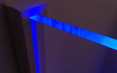 Plexiglas® beleuchten mit LED (Leuchtdiode)