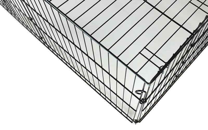 Vordach für einen Kaninchenkäfig / Hasenkäfig selber bauen
