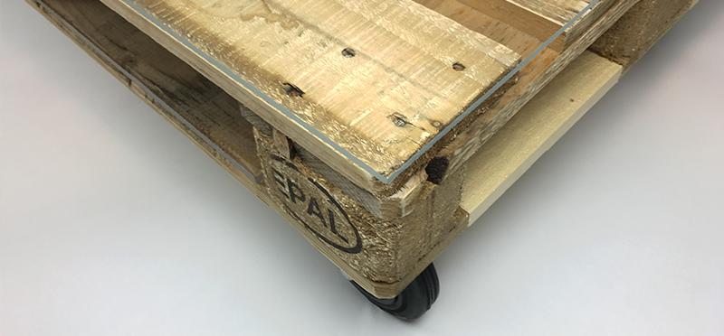 Palettentisch Selber Bauen Kunststoffplattenonline De