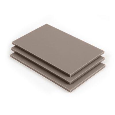Acrylglas Platte Beigegrau RAL 7006 matt