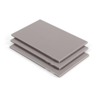 Acrylglas Platte Platingrau RAL 7036 matt