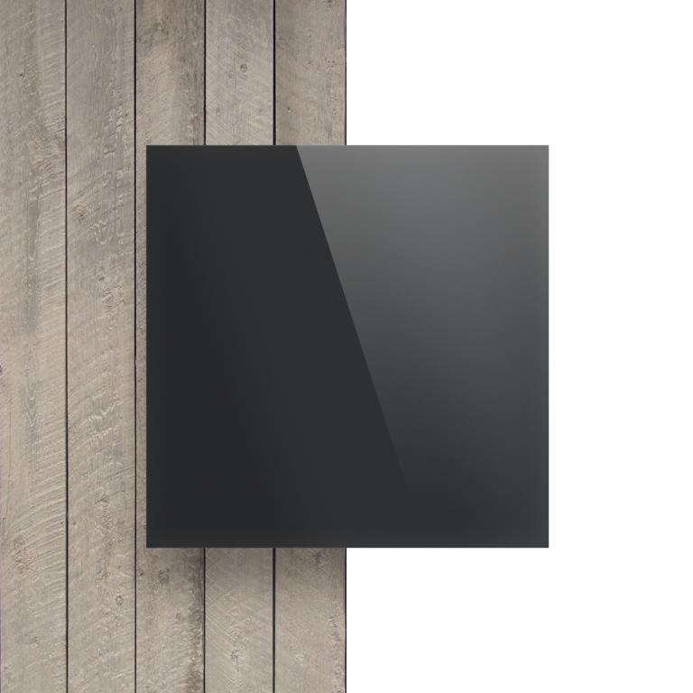 Vorseite Acrylglas Platte spiegel anthrazit