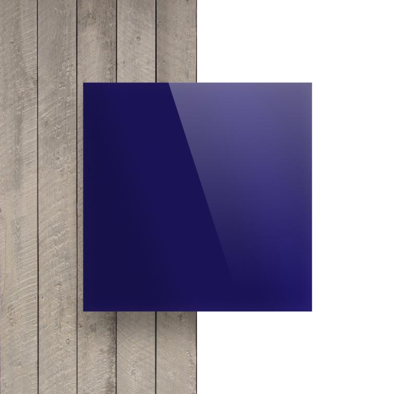 Vorseite Acrylglas Platte spiegel blau