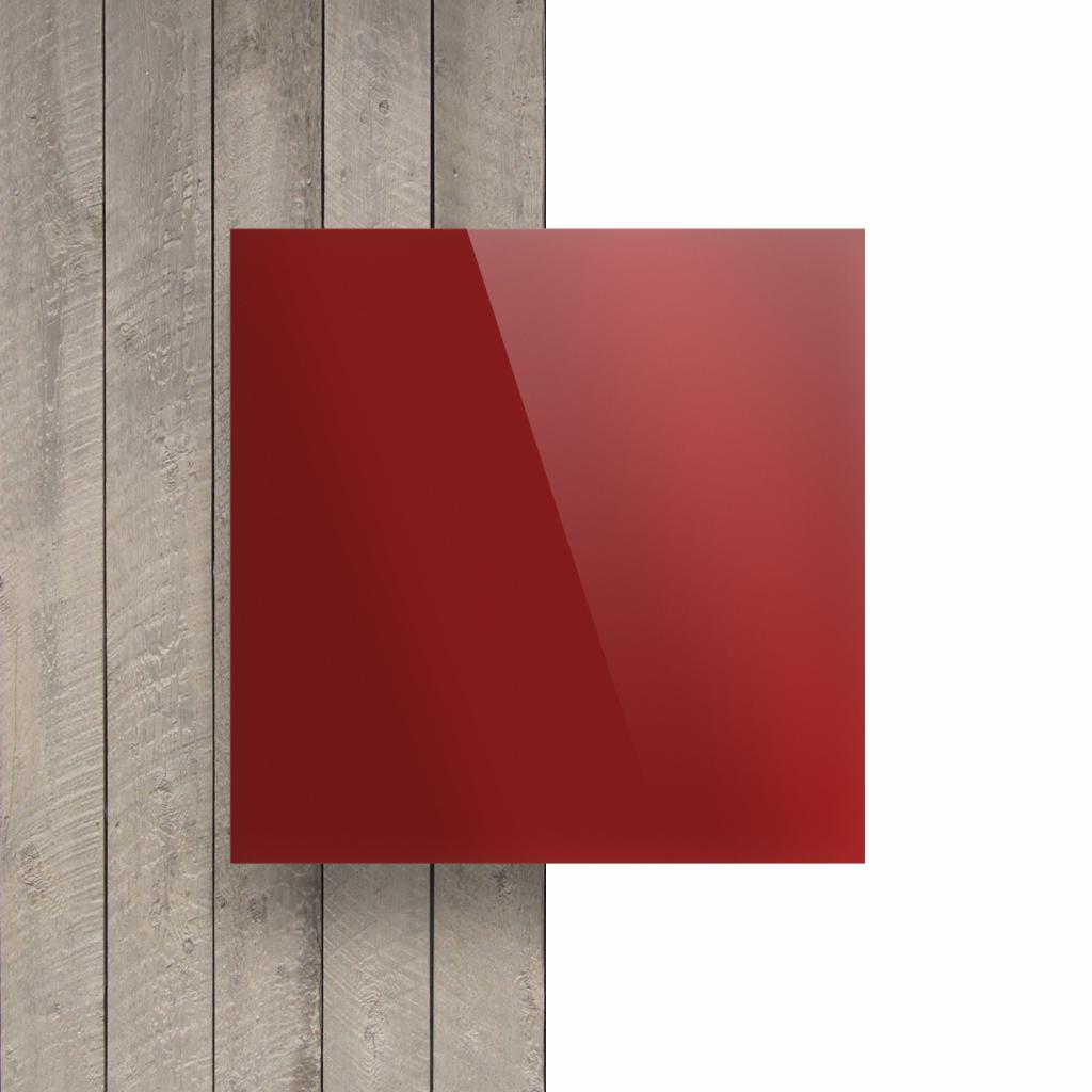 Vorseite Acrylglas Platte spiegel rot