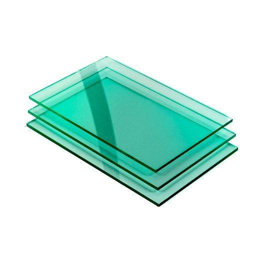 Acrylglass Platte Glasslook detail