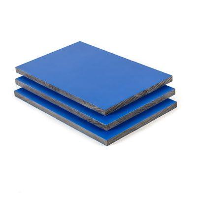 HPL Platte Enzianblau RAL 5010