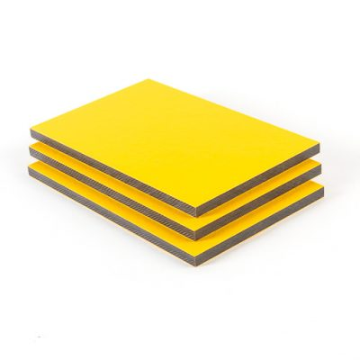HPL Platte Signalgelb RAL 1003
