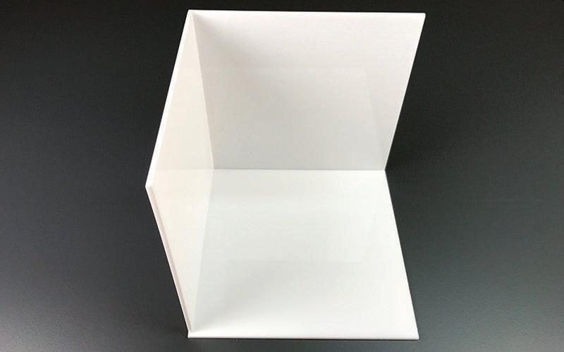 Licht Kubus aus Plexiglas selbst machen