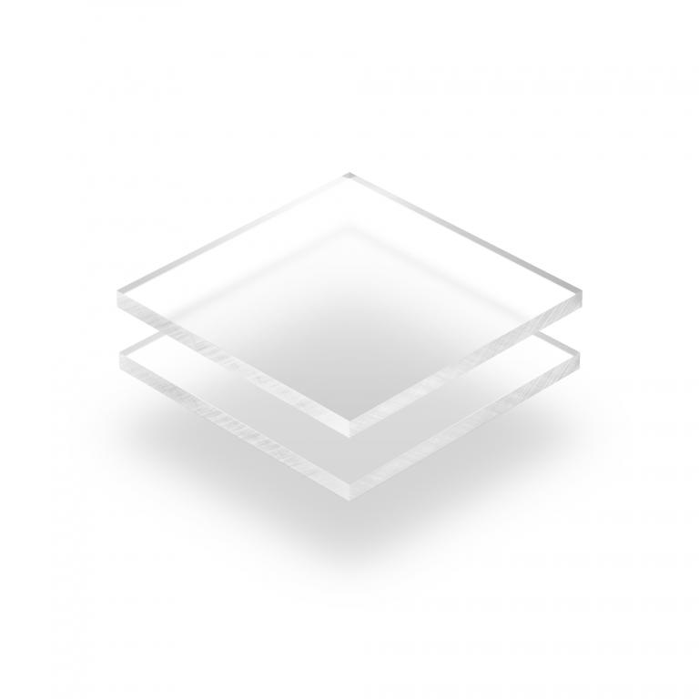 Acrylglas Platte frost hell