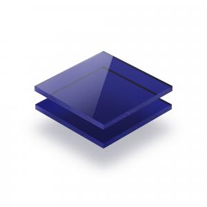 Acrylglas Platte getönt blau