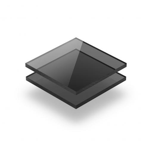 Acrylglas Platte getönt grau