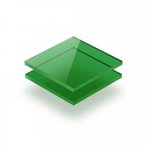 Acrylglas Platte getönt grün