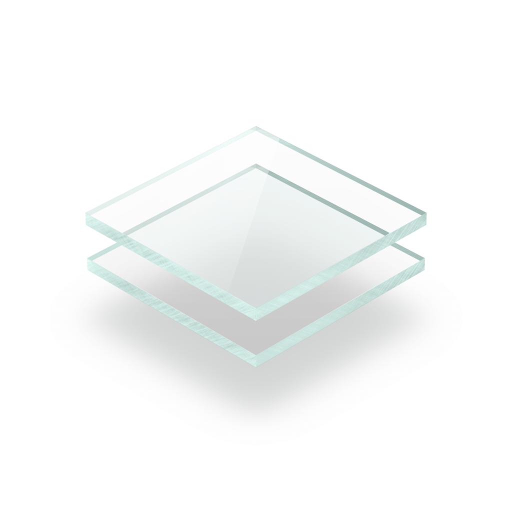 Acrylglas Platte glasslook