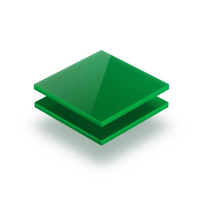 Acrylglas Platte opal grün