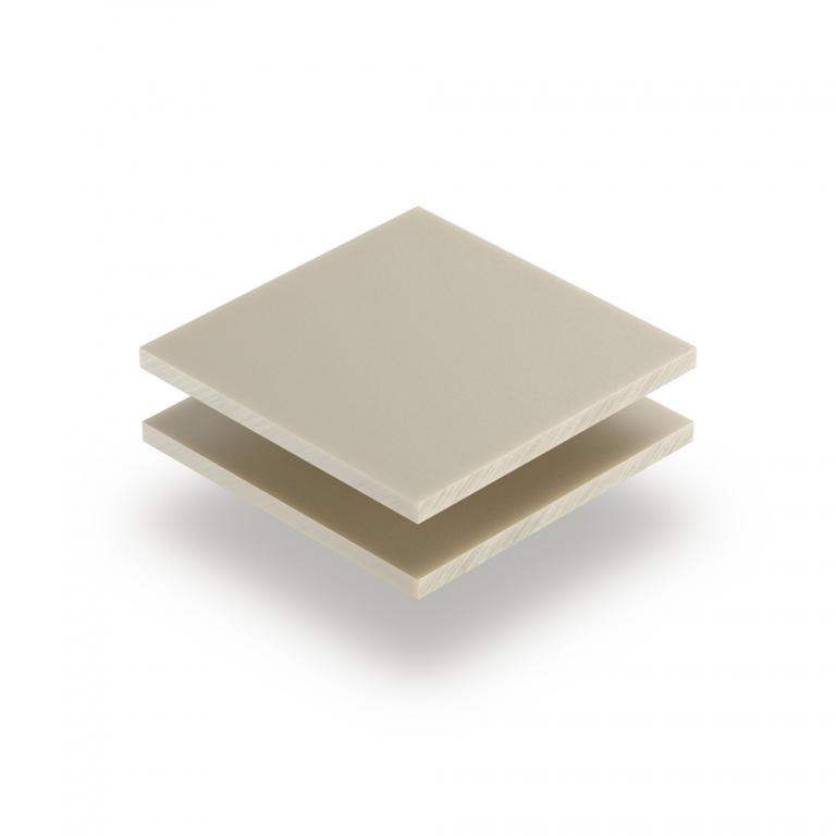 Acrylglas Platte perlweiß matt