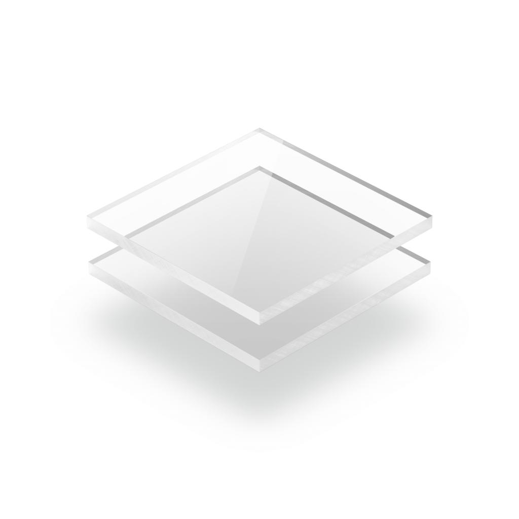 Acrylglas Platte transparent klar GS