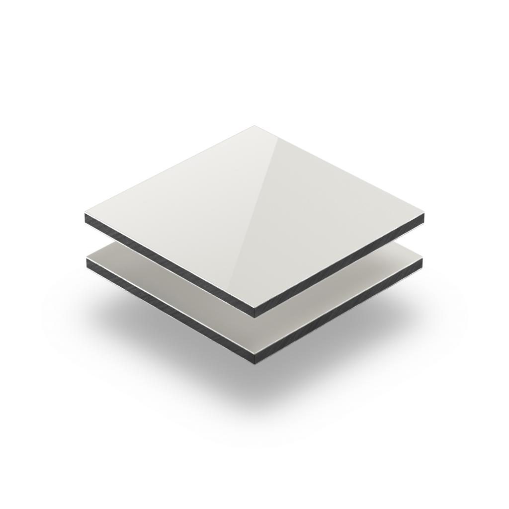 Aluminium Verbundplatte hellelfenbein
