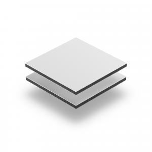 Aluminium Verbundplatte weiß matt