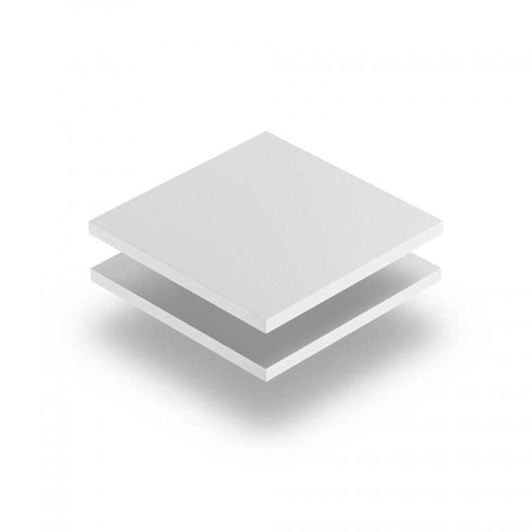 Forex PVC Hartschaumplatte weiß