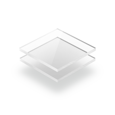 Kunststoffplattenonline.de 20 x 10 cm Transparent 200 x 100 mm 5mm im Zuschnitt Acrylgas XT Platten//Acrylglasplatten XT