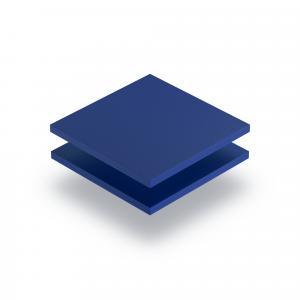 PVC Hartschaumplatte blau