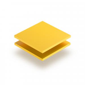 PVC Hartschaumplatte gelb