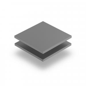 PVC Hartschaumplatte grau