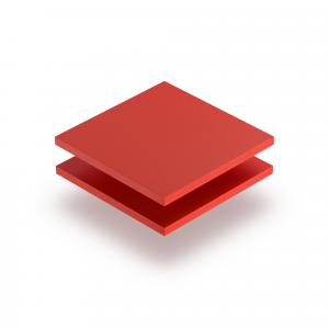 PVC Hartschaumplatte rot